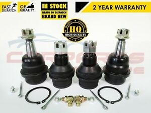FOR JEEP CHEROKEE WRANGLER UPPER LOWER FRONT SUSPENSION BALL JOINTS SET 83500202