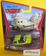 ACER WITH TORCH - Mattel Disney Pixar Cars 1:55 Professor's Team Metal Diecast