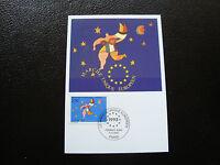 FRANCE - carte 1er jour 6/11/1992 (marche unique europeen) (cy37) french