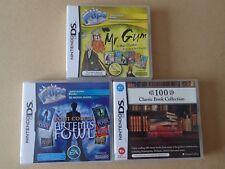 Nintendo DS FLIPS INTERACTIVE BOOKS MR GUM Artemis Foul 100 classic