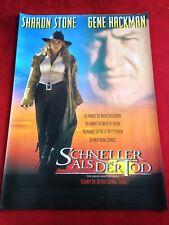 Schneller als der Tod Kinoplakat Poster A1, Sharon Stone, Leonardo DiCaprio