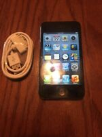 Apple iPod Touch 4th Generation Black (64 GB).     GREAT Bundle #4446