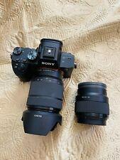 Sony a7 III 24.2 MP Mirrorless Digital Camera included 2 Sony Lens Bundles