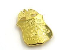 US FBI BADGE MONEY CLIP DEPARTMENT OF JUSTICE RETIRED BADGE CLIP