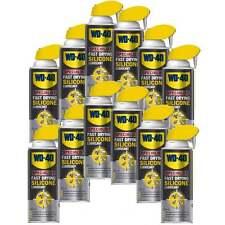 12 WD-40 PROFESSIONALE ALTE PRESTAZIONI SILICONE SMART PAGLIA Spray Can 44377