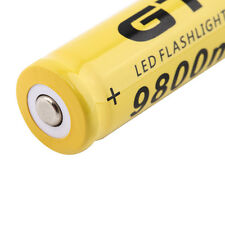1pcs 3.7V 18650 9800mAh Li-ion Rechargeable Battery For Flashlight Torch OW