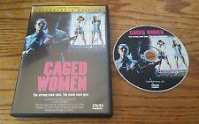 Caged Women (DVD, Collector's Edition) Laura Gemser Emanuelle prison film RARE
