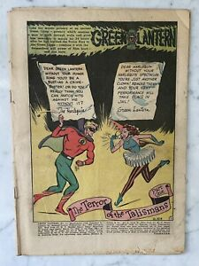 GREEN LANTERN #31-HARLEQUIN STORY-ALEX TOTH-1948-GOLDEN AGE-COVERLESS-COMPLETE