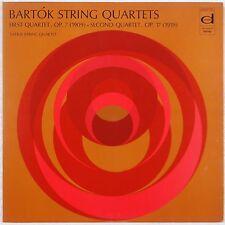 BARTOK: String Quartets First & Second TATRAI Stereo LP NM
