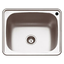 New Abey The Lodden PR45 RTH Laundry Trough 45L single BOWL Top Mount TUB Sink