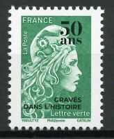 France Stamps 2020 MNH Marianne OVPT 50 Years Engraved Engravings 1v Set