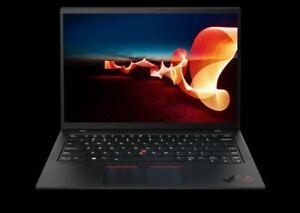 "Lenovo ThinkPad X1 Carbon 8th Gen Black 14"" 4K Laptop i7-10510U 16GB"