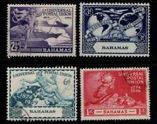 Bahamas 1949 UPU Universal Postal Union SG196-99 VF Used