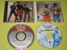 Cameo Word Up & DJ Jazzy Jeff & Fresh Prince Homebase  2 CD Albums Rap Pop