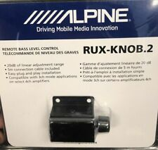 Alpine Rux-Knob.2 Remote subwoofer level control New Ruxknob Ship Fast!