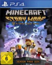PlayStation 4 Minecraft STORY MODE Episode 1 - 5 Sehr guter Zustand