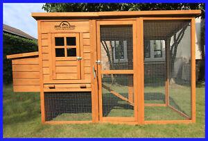 WINDSOR CHICKEN COOP HEN HOUSE POULTRY ARK RABBIT HUTCH RUN NEW LARGE DUCK BIRDS
