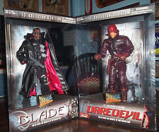 "BLADE ll & DAREDEVIL 12"" COLLECTORS EDITION by Marvel"
