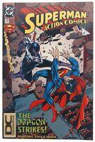 Action Comics 707 DCU DC Universe Variant VF Dragon Strikes DC Comics Feb 1995