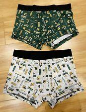 NFL Team Logo Green Bay Packers Mens Boxer Briefs Underwear - M & L