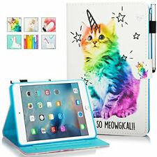 MOKASE iPad Mini Case, Mini 2/3 / 4/5 Case, Leather Smart Kickstand Case Cover