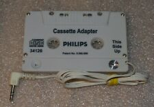 Philips Car Cassette To Compact Disc Digital Audio Adaptor 3.5 Mm for Mp3/Phone