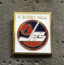 Winnipeg Jets 9 Bobby Hull WHA Hockey Pin