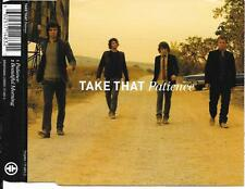TAKE THAT - Patience CD SINGLE 2TR UK RELEASE 2006