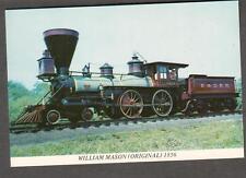 unmailed train post card- William Mason original 1856 Baltimore and Ohio Museum