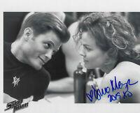 Dina Meyer Starship Troopers Dizzy hand signed 8X10 photo w COA autograph