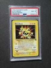 Pokemon PSA 8 ELECTABUZZ #2 - WB MOVIE PROMO 1999 - (NM/MINT)