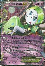 Pokemon Legendary Treasures Meloetta EX #RC11 Radiant Rare Card