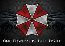 "Umbrella Corporation Resident Evil Game Car Bumper Window Sticker Decal 5""X4"""