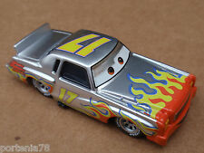 Disney Cars DARRELL CARTRIP WITH METALLIC FINISH CHASE Loose FIXED EYES