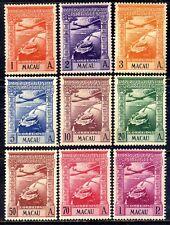 Macau Macao Air Mail sc#C7-C15 (1938) Colonial Empire full set OG MH*