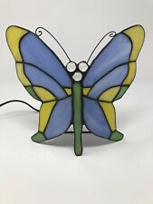 Tiffany Style Stained Glass Butterfly Table Desk Lamp Nightlight Lighting