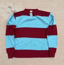 Vintage 70s NOS Stripe Long Sleeve T Shirt vtg tee Skate Surf Mod 60s