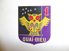 b9502 Vietnam RVN 1st Marine Corps Battalion Quai Dieu Monster Bird woven IR11T