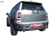 REMUS Scarico Sportivo MINI COOPER S Clubman R55 Ab Anno Fab. 08 1.6 L Dx SX