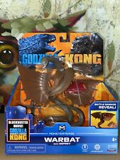 "Godzilla VS Kong WARBAT WITH OSPREY 6"" Figure MONSTERVERSE! NEW 2021"