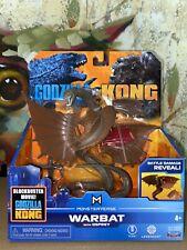 "Godzilla VS Kong WARBAT WITH OSPREY 6"" Figure MONSTERVERSE! NEW 2021"