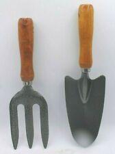 Garden Hand Fork Trowel Rake Gardening Planting Digging Tool Set