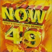 Various Artists : Now Thats What I Call Music! 49 2 CD FREE UK Postage