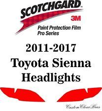 3M Scotchgard Paint Protection Film Pro Series 2011 - 2016 2017  Toyota Sienna