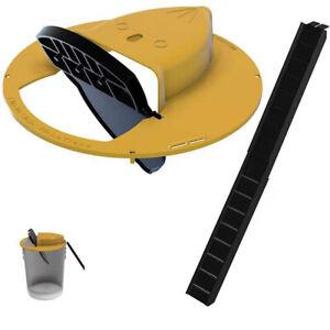 Smart Continuous Mouse Rat Trap Plastic Flip N Slide Bucket Lid Mouse Rat TrHCA