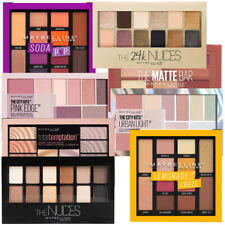 Maybelline City, Soda, Total, Nudes 12 Color Eye Shadow Palettes Variety