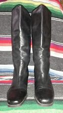 """Markon """"Lucy"""" Leather Calf Boots in Classic Black-8 1/2 M"""
