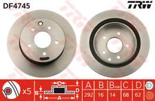 Brake Disc (2 Piece) - TRW df4745