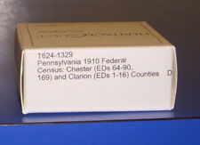 1910 Pennsylvania Federal Census Microfilm Chester Clarion County Genealogy PA