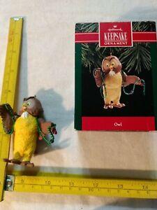 "Hallmark ""Owl"" from Winnie-the-Pooh (1988)."